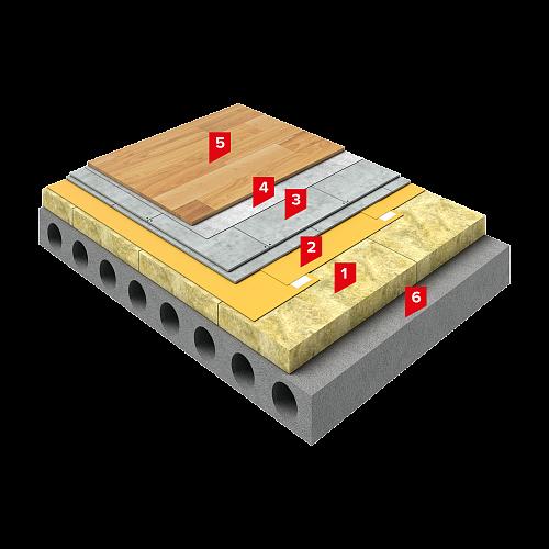 Система изоляции SD-ПОЛ Проф