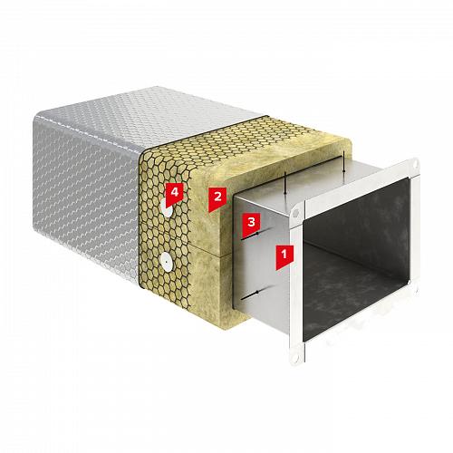 Система изоляции SD-ОГНЕЗАЩИТА Воздуховод